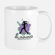 Running Cheaper than Therapy Mug