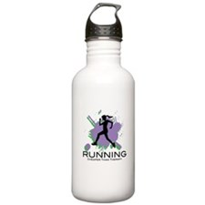 Running Cheaper than Therapy Water Bottle