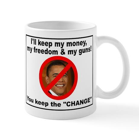 I'll Keep My Money and my guns, you keep the chang