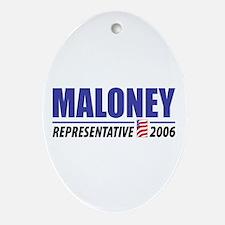 Maloney 2006 Oval Ornament