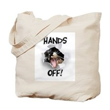 Hands Off Cat Tote Bag