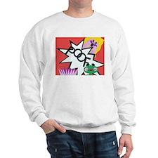 Princess & Frog Detail Sweatshirt