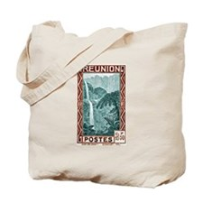 1940 Reunion Bridal Falls Postage Stamp Tote Bag