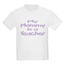 """Baby Mommy Teachers"" Kids T-Shirt"