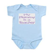 """Baby Mommy Teachers"" Infant Creeper"