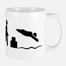 Physically Challenged Swimmer Mug