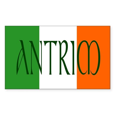 County Antrim Sticker