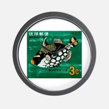 1967 Ryukyu Islands Triggerfish Postage Stamp Wall
