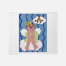 Bitty Angel Throw Blanket