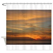 San Diego sunset 2 Shower Curtain