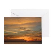 San Diego sunset 2 Greeting Card