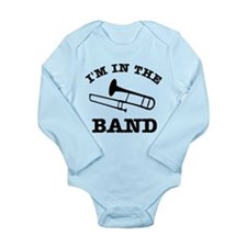 Trombone Gift Items Long Sleeve Infant Bodysuit