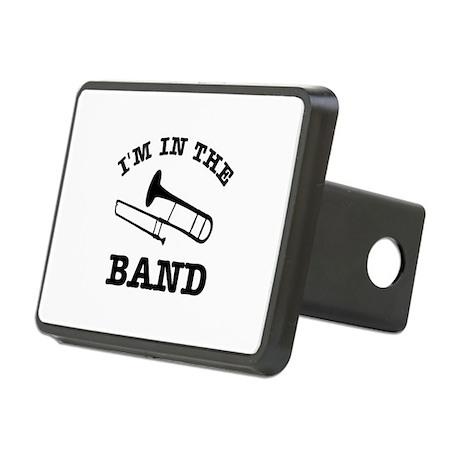 Trombone Gift Items Rectangular Hitch Cover
