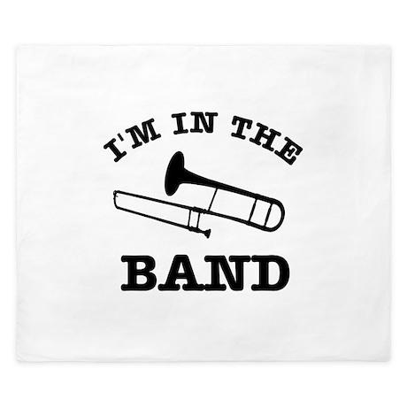 Trombone Gift Items King Duvet