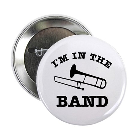 """Trombone Gift Items 2.25"""" Button (10 pack)"""