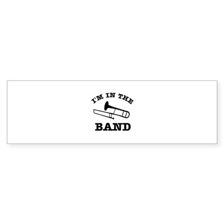 Trombone Gift Items Sticker (Bumper)