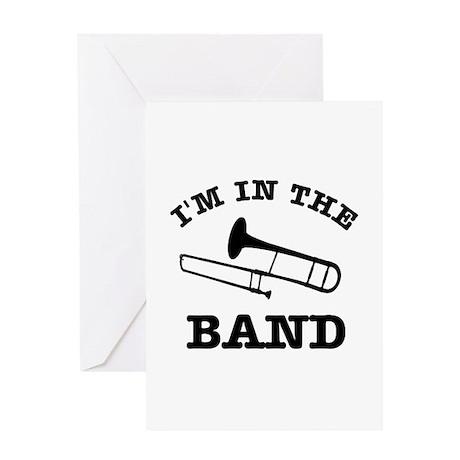 Trombone Gift Items Greeting Card