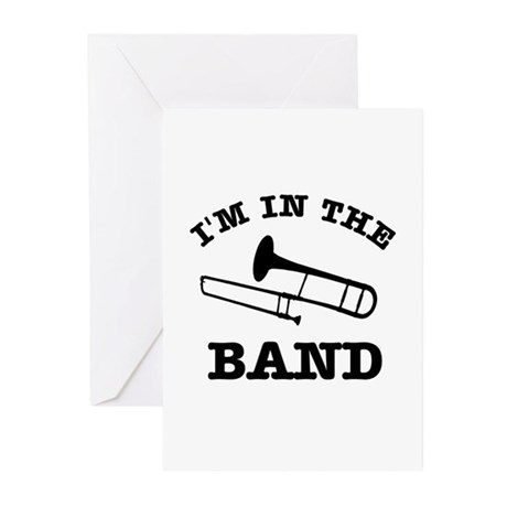 Trombone Gift Items Greeting Cards (Pk of 20)