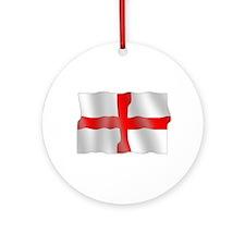 English flag Ornament (Round)