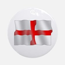 English flag Ornament (Round)