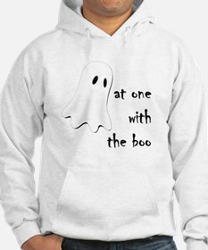 at one with the boo -- dark Hoodie