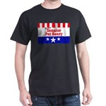 Re-elect Geary - Black T-Shirt