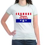 Re-elect Geary - Jr. Ringer T-Shirt