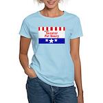 Re-elect Geary - Women's Pink T-Shirt