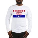 Re-elect Geary - Long Sleeve T-Shirt