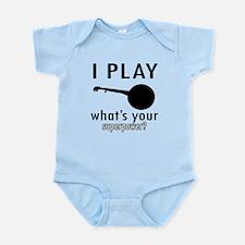 Cool Banjo Designs Infant Bodysuit
