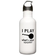 Cool Banjo Designs Water Bottle