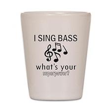 Cool Bass Designs Shot Glass