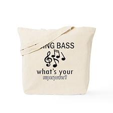 Cool Bass Designs Tote Bag