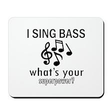 Cool Bass Designs Mousepad