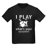 Drummer Kids T-shirts (Dark)
