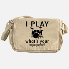 Cool Drums Designs Messenger Bag