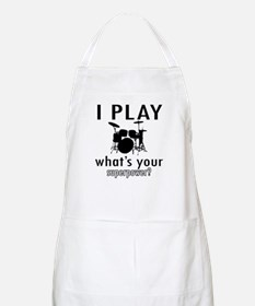 Cool Drums Designs Apron