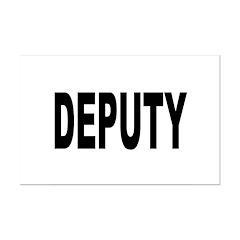 Deputy Law Enforcement Posters