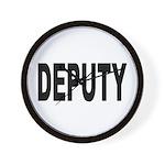 Deputy Law Enforcement Wall Clock