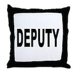 Deputy Law Enforcement Throw Pillow