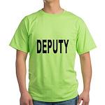 Deputy Law Enforcement Green T-Shirt