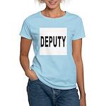 Deputy Law Enforcement (Front) Women's Pink T-Shir
