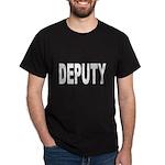 Deputy Law Enforcement (Front) Black T-Shirt