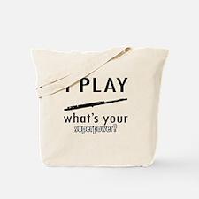 Cool Flute Designs Tote Bag