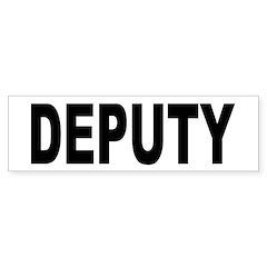 Deputy Law Enforcement Bumper Bumper Sticker