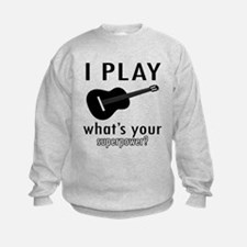 Cool Guitar Designs Sweatshirt
