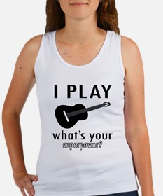 Cool Guitar Designs Women's Tank Top