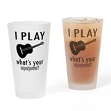 Guitar Pint Glasses