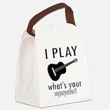 Cool Guitar Designs Canvas Lunch Bag