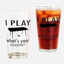 Cool Keyboard Designs Drinking Glass